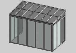 Serra solare apertura laterale - bim