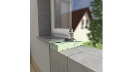 Thermally insulated window sill - bim