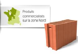 Produits commercialisés sur la zone Nord - bim