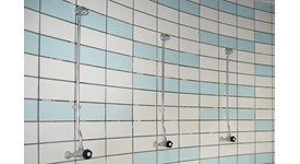 Grifería temporizada de ducha - bim