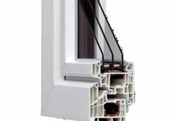 PVC HX95 reinforced with thermal break - bim