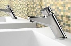 Timed washbasin taps - bim