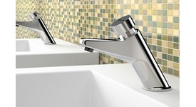 Timed washbasin taps - bim