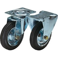 Swivel and fixed castors standard version - bim