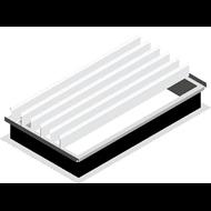 ARCALAM EVOLUPNEU - Costière Acier - Aluminium - bim