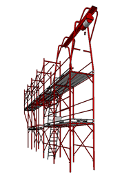Metal scaffold 2014 - bim
