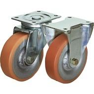 Roulette pivotante ou fixe modèle lourd - bim