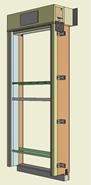 Monoblocco Termoisolante - RoverBlok Avvolgibile_RVRAMC-3 porta - bim
