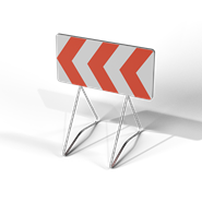 Temporary sign road - K8 - bim