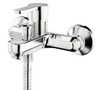 ZIP - Mixer bath and shower wall-mounted tap - bim