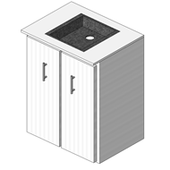 Bathroom vanity unit - bim