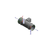 Régulateur de débit d'air - Circulaire - bim