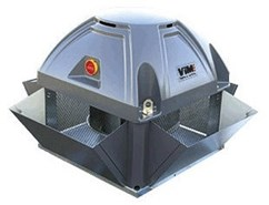 TEDV F400 - Roof mounted fan in vertical discharge format - bim