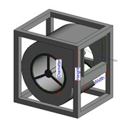 CTI Centrifugal fan (MEP) - bim