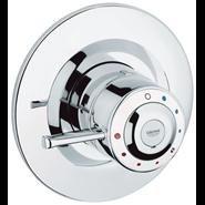 Avensys - Single Control D08 Shower Mixer - bim