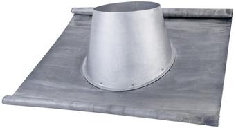 Solin Plomb + Larmier - 25° à 45° - bim
