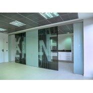 Slidong door RollGlass 100 (XOX) - bim