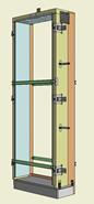 Monoblocco Termoisolante - RoverBlok Scuro_RVRSFC1 porta - bim