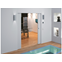 ECLISSE SYNTESIS LUCE DOUBLE - stud wall - finished wall 150 mm - bim