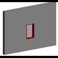 Ventilation grill - bim