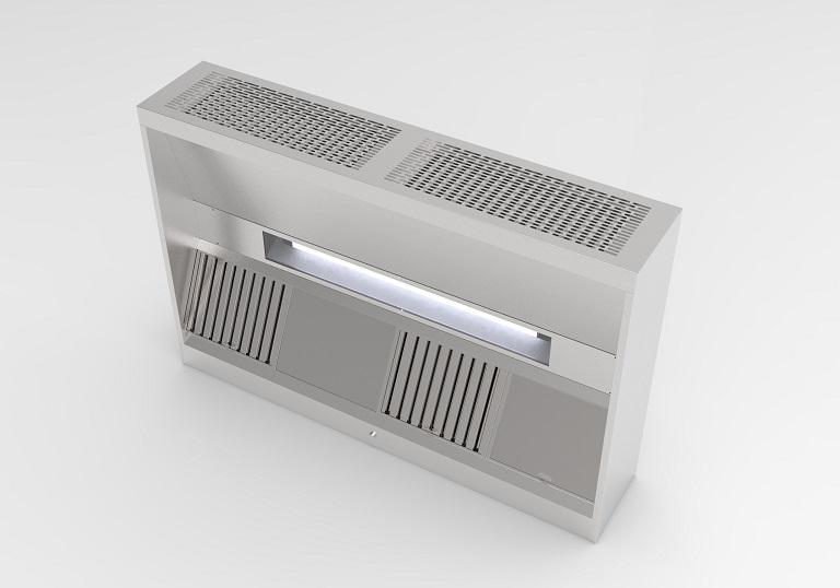 Saftair Ventilation Hotte De Cuisine A Compensation Bim Object
