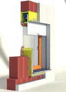 RVRAMC-3 window - bim