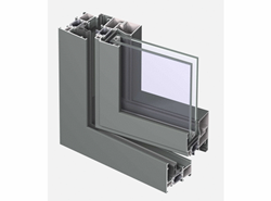 CS 68 Door inward Opening with single transom - bim