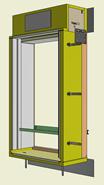 Monoblocco Termoisolante - RoverBlok Avvolgibile_RVRAFC-1 finestra - bim