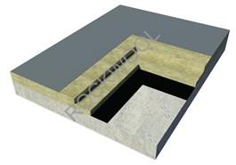 Roof - Concrete Deck Roof - Hardrock 60 + Roofrock 30 - bim
