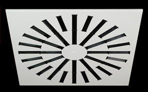 AXO (Adjustable vanes diffusers) - bim