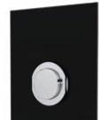 Built-in timed urinal tap: PRESTO XT 2000 - UE Black - bim