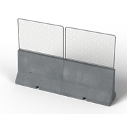Concrete barrier - bim