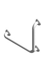 ERGOSOFT 90° angled grab bar - bim