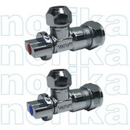 LC_NORIKA_Chrome Plated Brass CR Angle Ball Valve_AVCRN - bim