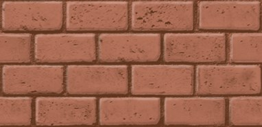 printed series - Running bond used brick - bim