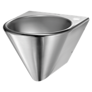 121130 Wall-mounted BOB washbasin - bim