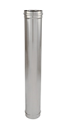 Elément droit inox - 1000 mm - bim