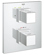 Grohtherm Cube Thermostat for bath or shower - bim