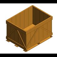 Pallet container - 1t - bim