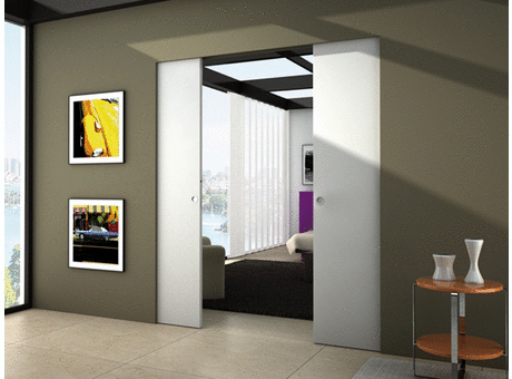 Porte Eclisse Syntesis Line.Eclisse Eclisse Syntesis Line Double Solid Wall Finished
