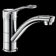 2510 Mechanical sink mixer with swivel spout - bim