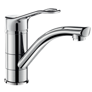 2510 Mechanical sink mixer with swivel spout - bim