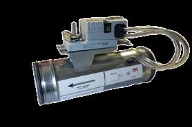 Variable flow tight damper RCVS - bim