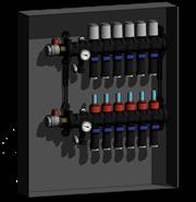 Distribution manifolds and cabinets  - bim
