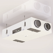 Heat recovery ventilation DXR - bim