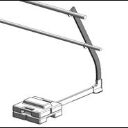Barrial autoporté standard coudé 30° - bim