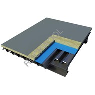 Roof - Metal Deck Roof - HardRock 60 - bim