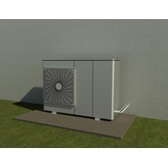 Heat pump - External unit - bim