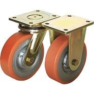 Roulette pivotante ou fixe mécano soudée modèle lourd - bim