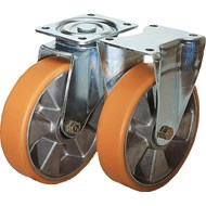 Roulette pivotante ou fixe modèle mi-lourd - bim